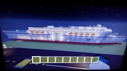 Custom Cruise Ship (CSL Avenger) Xbox 360 Minecraft Map & Project
