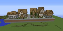 Building Strip (Houses) Minecraft Map & Project