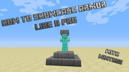 How to Showcase armor like a Pro! [Pop-Reel] Minecraft Blog