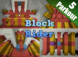 Block Rider - Parkour Map [1.8+] Minecraft