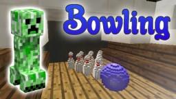 Bowling in Vanilla Minecraft Minecraft Project