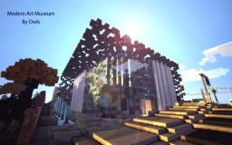 Modern Art Museum ( inspired by the Mucem ) Minecraft