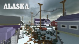 Alaskan Town Minecraft Map & Project
