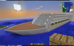Biggest Cruise Ship Build Minecraft Map & Project