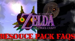 Majora's Craft Resource Pack FAQs Minecraft Blog