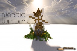 Nordic Windmill [DOWNLOAD] Minecraft