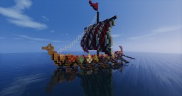 Viking's Longboat Minecraft