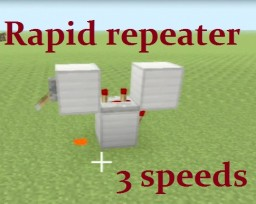Tutorial: Smallest Rapid Repeater Minecraft Blog