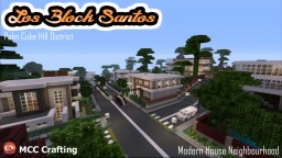 "Modern House Neighbourhood, Palm Cube Hill, ""Los Block Santos"" PS3/PS4/CONSOLE Minecraft"
