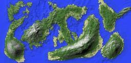 Costum Islands Minecraft Map & Project