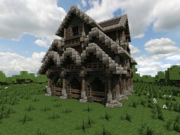 Medieval Stable Minecraft Map & Project