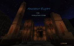 ANCIENT EGYPT - The Forgotten Tomb - ADVENTURE MAP! Minecraft