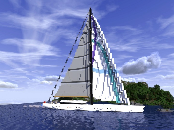 Sailing Yacht Minecraft Project