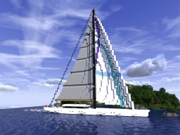 Sailing Yacht Minecraft
