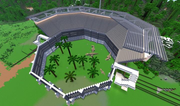 Jurassic World Isla Nublar v1 Minecraft Dinosaurs Minecraft