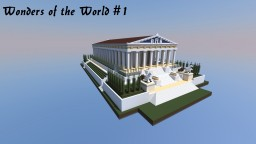 Wonders of the World - Temple of Artemis Minecraft Map & Project