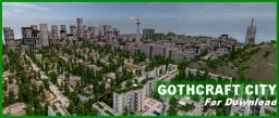 GOTHCRAFT CITY for download! (half billion blocks) Minecraft