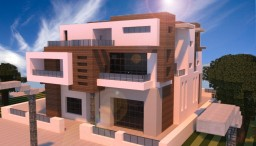 Modern Townhouse 2 Minecraft Project