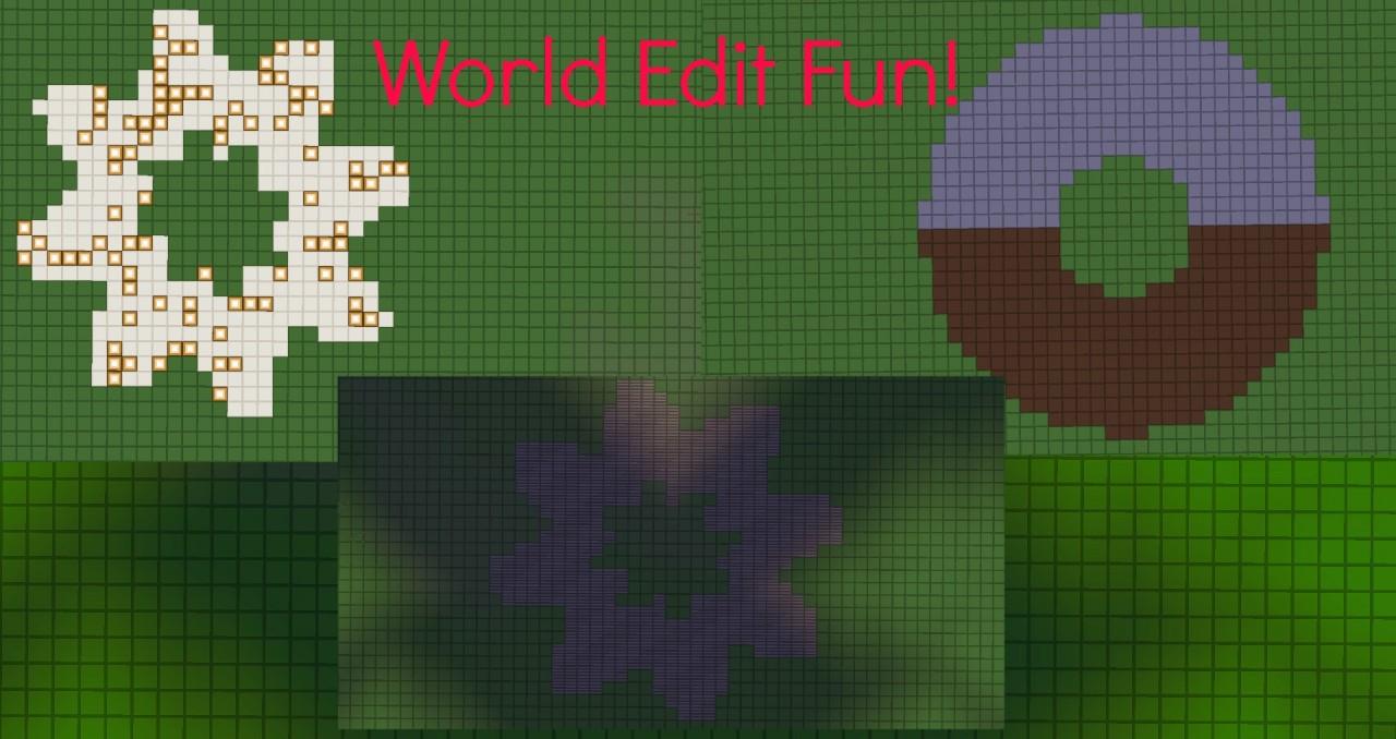 World Edit] Fun commands to do Minecraft Blog