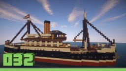 Steam freighter Albatros Minecraft