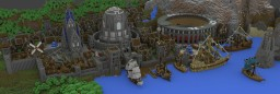 The city of Orhod Minecraft Map & Project
