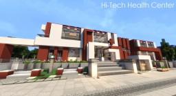 Modern Hi-Tech Health Center Minecraft Map & Project