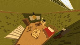 Steve's Bedroom [Giant Bedroom] Minecraft Project