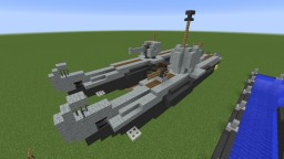 Type XXVIID Seelöwe twin submarine [FICTIONNAL/TYPE VIIC U-BOAT INSPIRED] Minecraft Map & Project