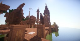 Esgaroth - The LakeTown Minecraft Map & Project