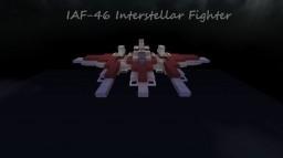 "IAF-46K ""Vanguard"" Universal Interstellar Fighter (Updated Weapons) Minecraft Map & Project"
