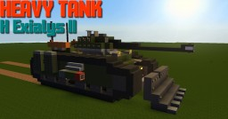 Heavy Tank H Exialys II Minecraft Map & Project
