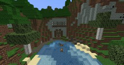 Cozy Mountain Home Minecraft Map & Project