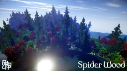 Spider Wood [Custom Terrain - 1k x 1k map] 1.8+ - Tree Variety Update Minecraft Project