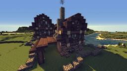 Part 2 | Medieval Blacksmith Minecraft Map & Project