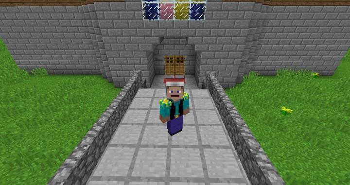 Super Mario 64 DS adventure map Minecraft Project