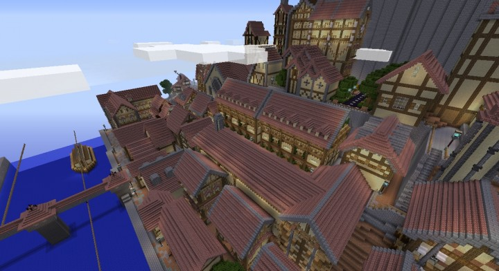 attack on titan map for minecraft pe