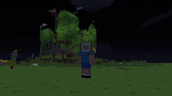 Adventure Time Tree House Minecraft Map