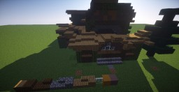 Medieval Log Manor Minecraft Map & Project