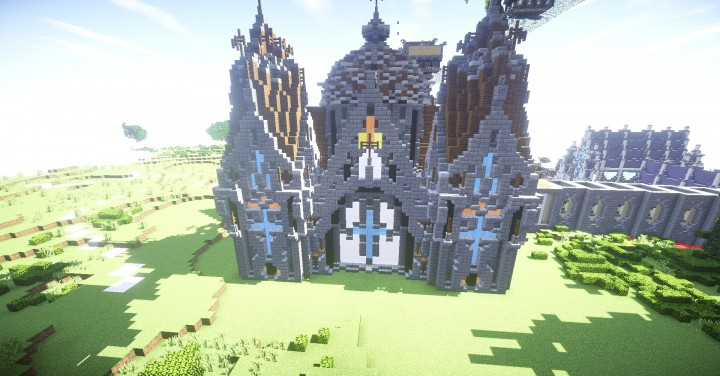 Zyria Cathedral (Zyria MMORPG) Minecraft Map
