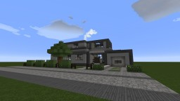 Modern Home vol.1 Minecraft Map & Project