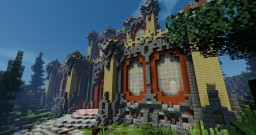 100x100 Temple Plot Minecraft