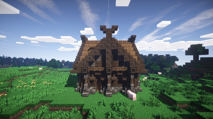 Small Viking House Minecraft Project