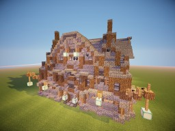 Fancy House   Decorate it yourself Minecraft Map & Project