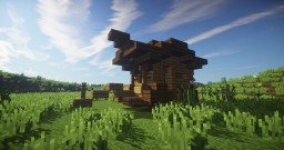 Small Wooden Wagon Minecraft Map & Project
