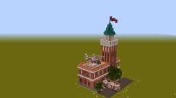 Fire Station for my modern city (Megapolis) Minecraft