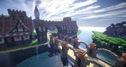 Medieval town Minecraft