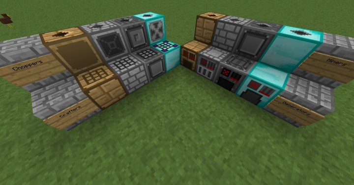 Blocks from the Progressive Automation Mod
