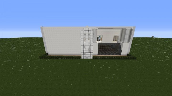 Medium sized modern house minecraft project for Medium modern house