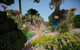 Fantasy Plot 200x200 Minecraft Map & Project