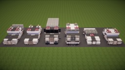Police Car Pack Minecraft Map & Project